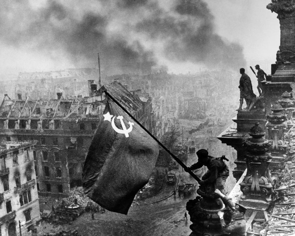 1945年,柏林。图片来源:MAMM