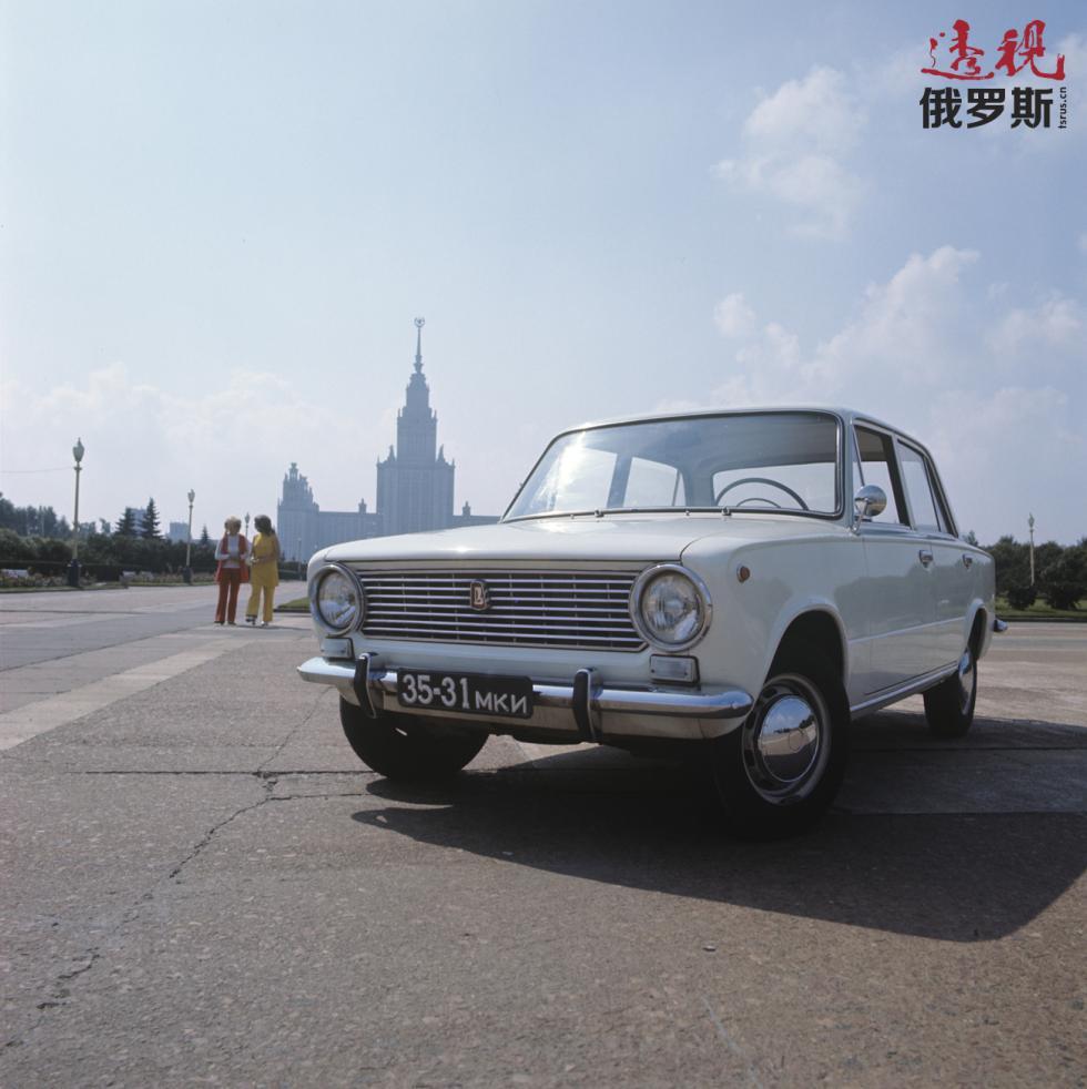 VAZ-2101汽车。图片来源:Dmitry Donskoy / 俄新社