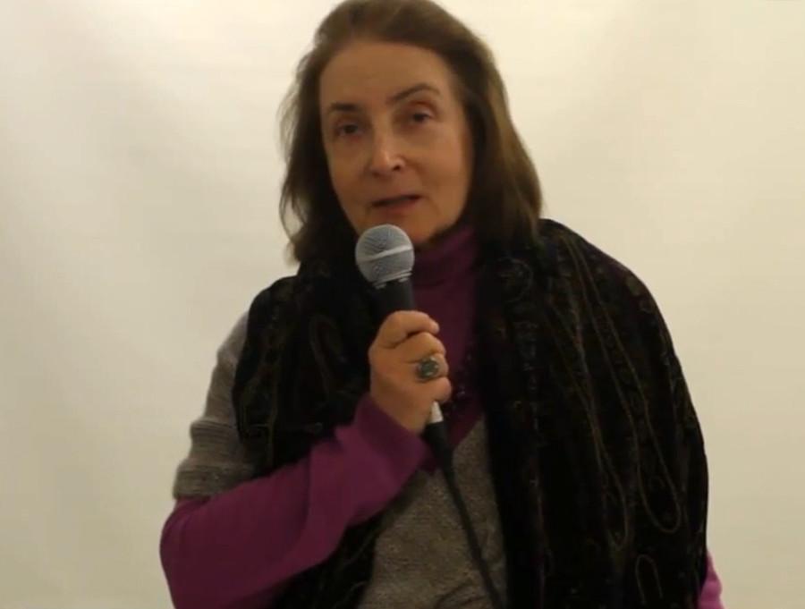 活动家娜塔莉亚·马拉霍夫斯卡娅。图片来源:Oksana Zamoyskaya