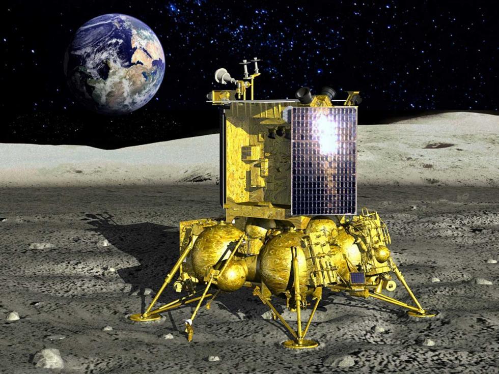 """""""月球-环球""""项目。"""