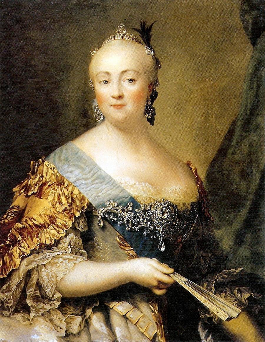 《伊丽莎白肖像》,维吉利·埃里克森(Vigilius Eriksen)。图片来源:State museum-preserve Tsarskoye Selo