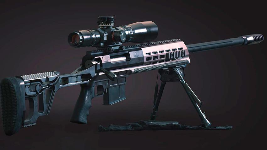 DXL-3狙击步枪 。图片来源:Lobaev Arms