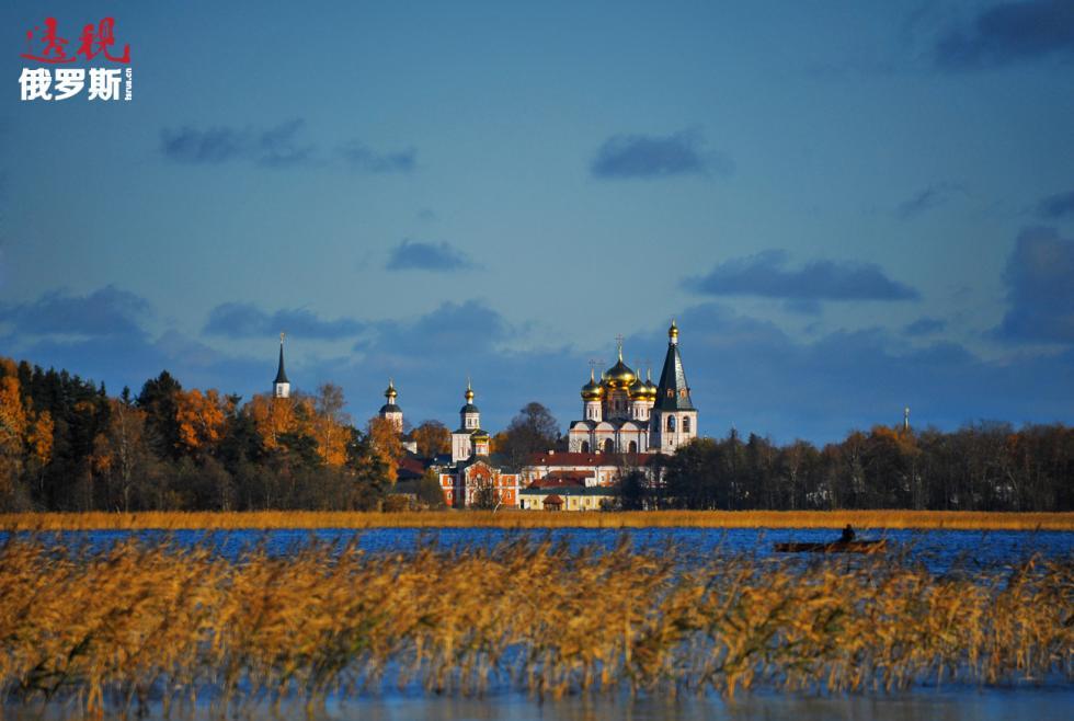 伊维尔修道院。图片来源:Maria Vaschuk / 俄新社