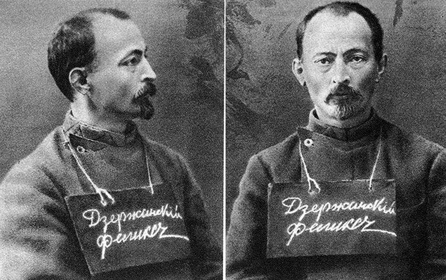 费利克斯·捷尔任斯基,1914年。图片来源:档案照片