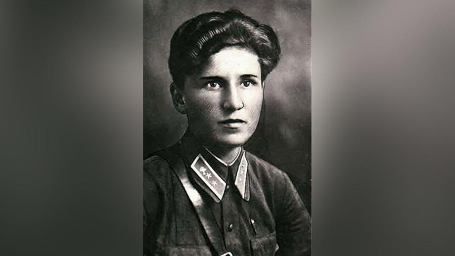 苏联飞行员叶卡捷琳娜·布达诺娃。 图片来源:档案照片