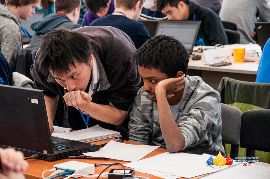图片来源:Moscow Workshops ICPC