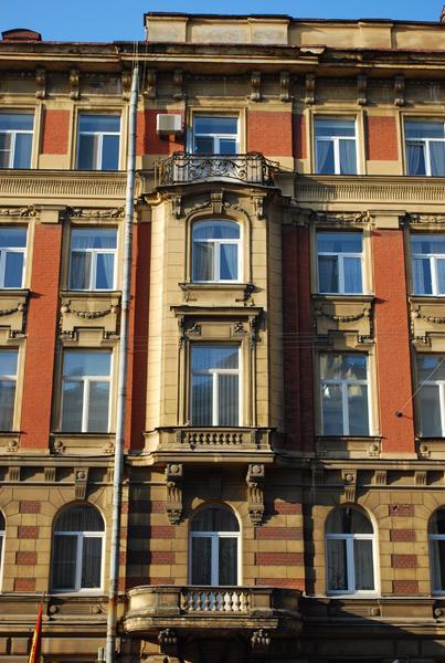 弗尔什塔茨卡娅街的出租房建。图片来源:Ekaterina Yukhneva