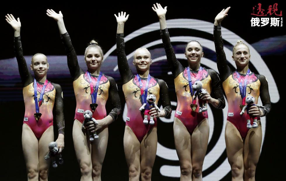 俄罗斯女队。图片来源:路透社