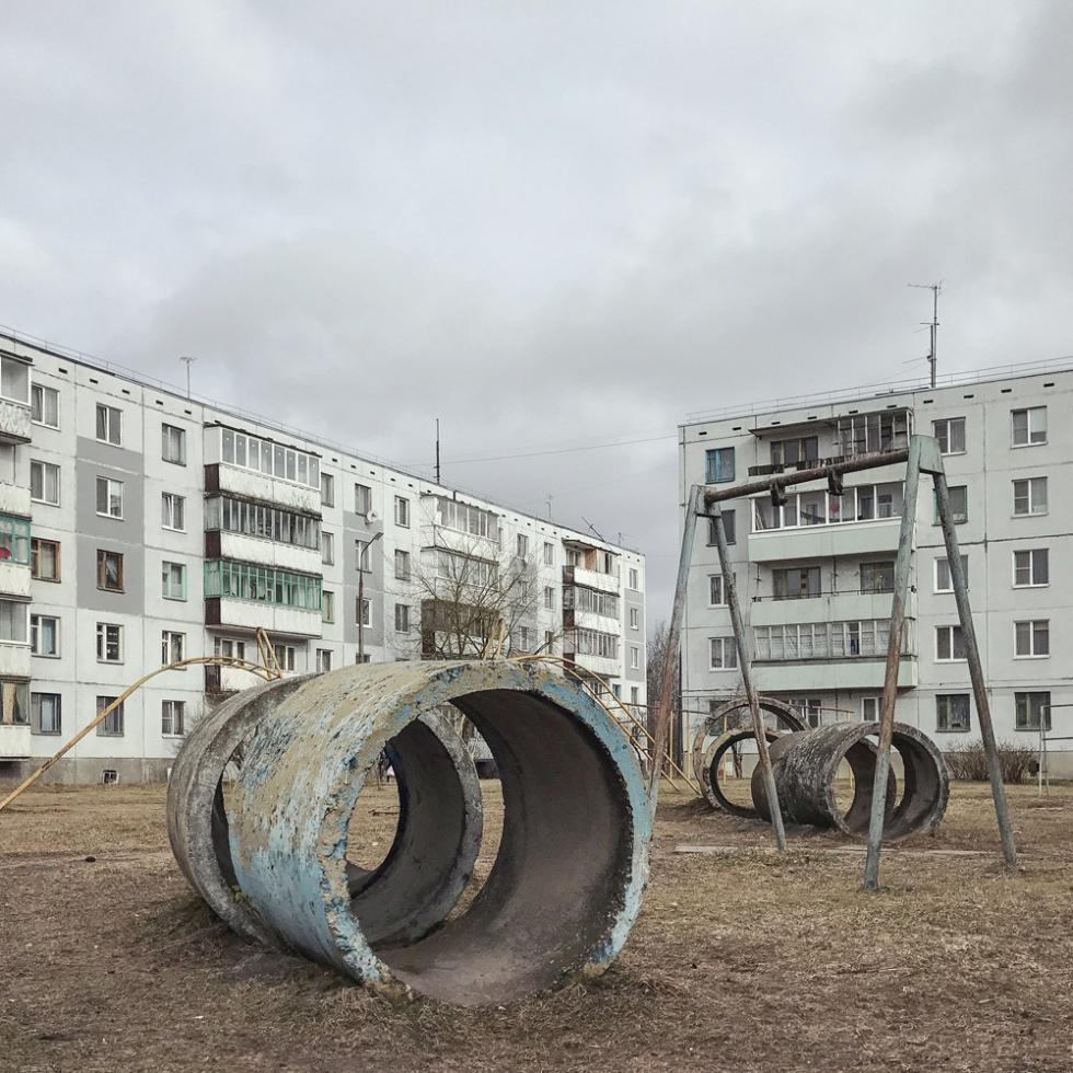 普斯科夫州柳比亚托沃站。摄影:Dmitry Markov