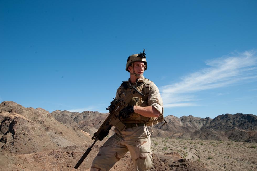 FN SCAR特种部队战斗突击步枪。图片来源:Wikipedia