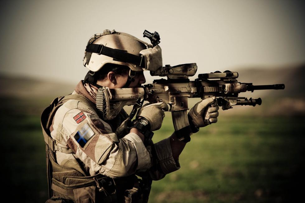 H&K416自动步枪。图片来源:Wikipedia
