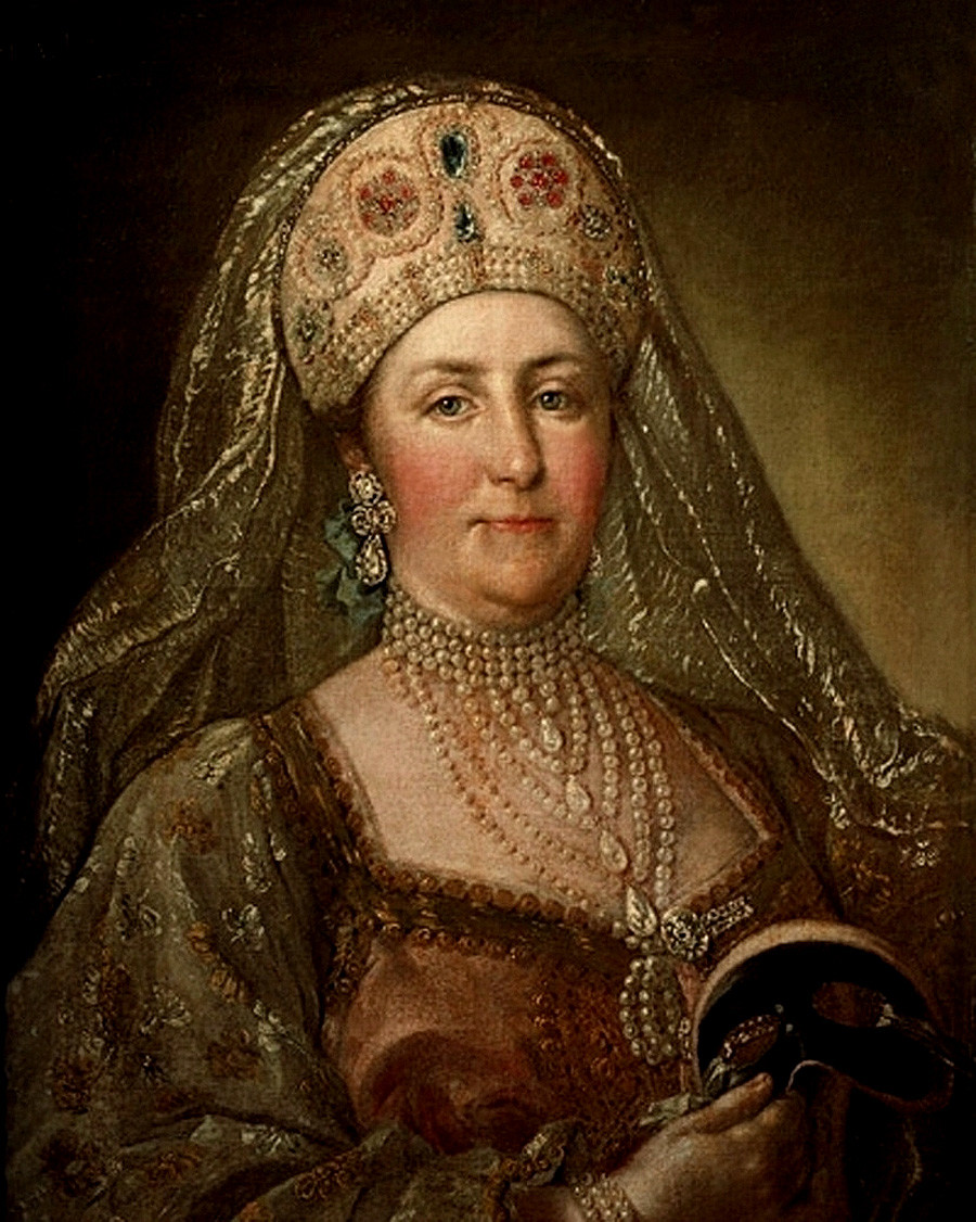 叶卡捷琳娜二世 。图片来源: 国家历史博物馆