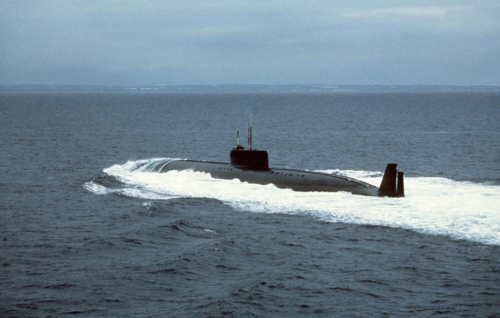 K-162潜艇。图片来源:Wikipedia