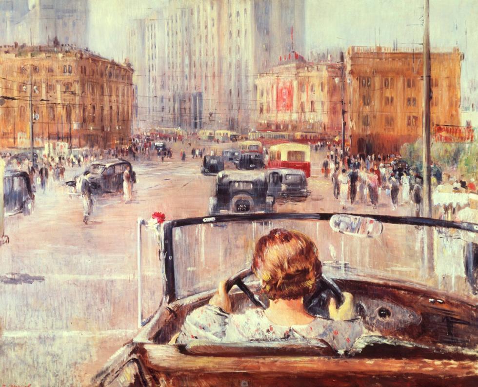 来源:Yuri Pimenov/State Tretyakov Gallery