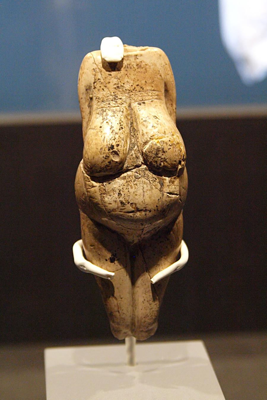 维纳斯雕像(石器时代表现女性生育能力的雕像)。图片来源:Andreas Franzkowiak