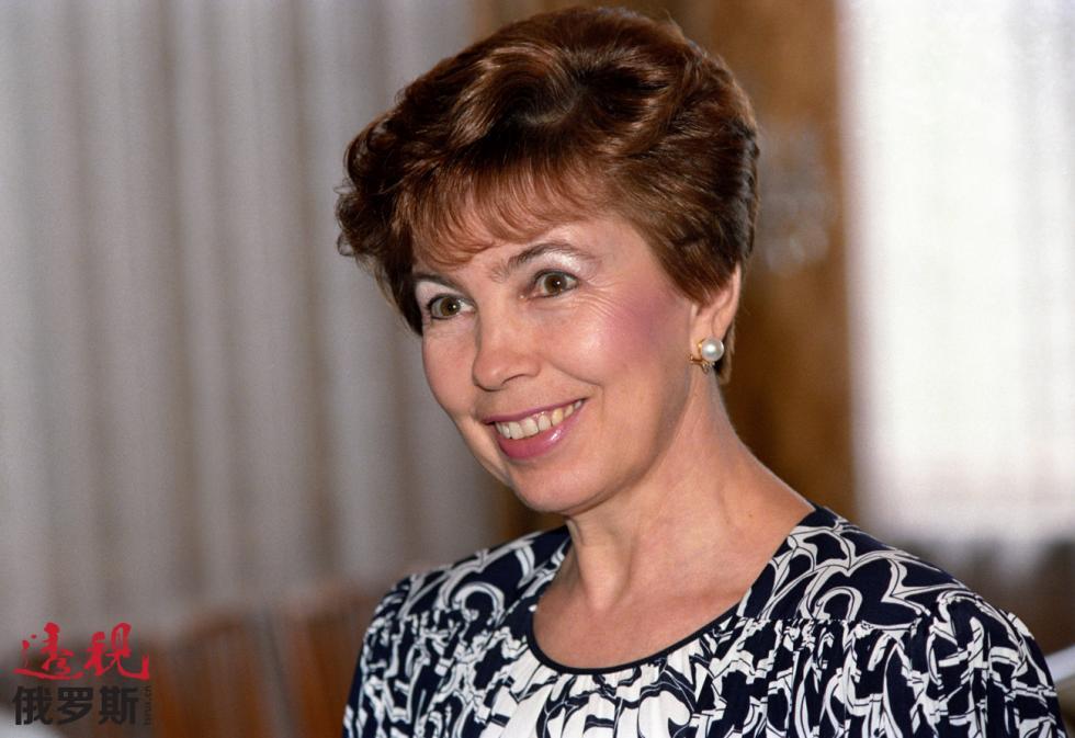 赖莎·戈尔巴乔娃。图片来源:Eduard Pesov / 塔斯社