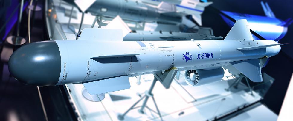 Kh-59MK导弹。Press photo