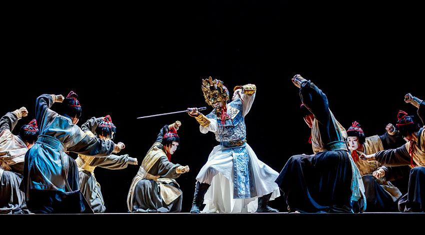 《兰陵王》。图片来源:Press photo
