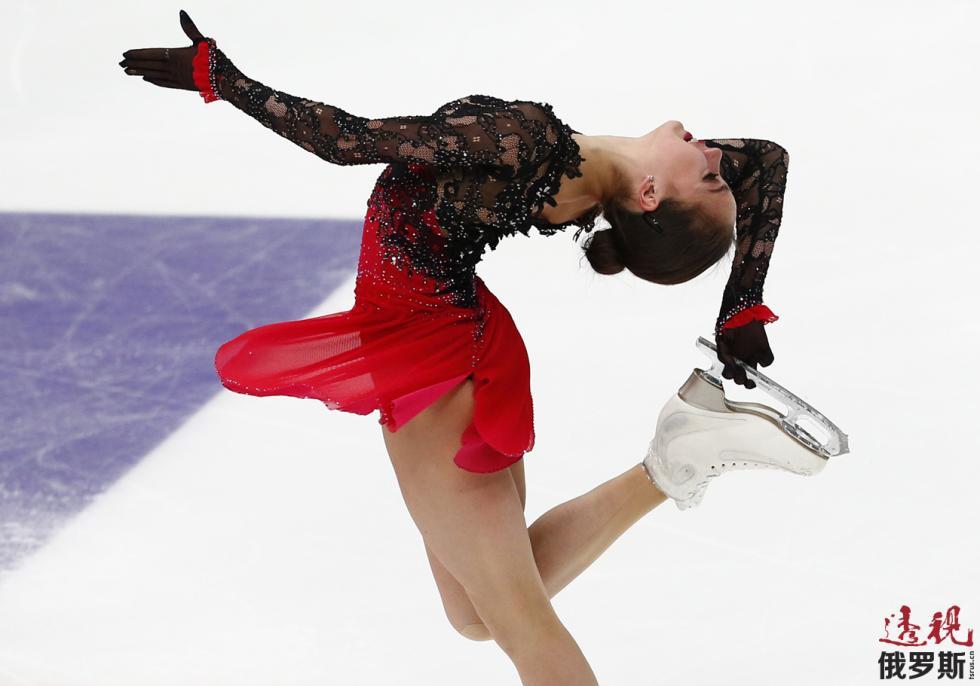 阿丽娜·扎吉托娃 。图片来源:AP