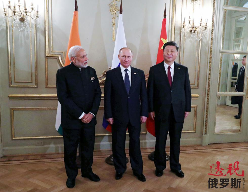 2018年12月1日。俄罗斯总统普京、印度总理莫迪与中国国家主席习近平。图片来源:路透社