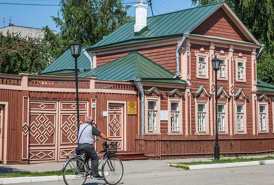 俄罗斯院士巴甫洛夫的故居博物馆。
