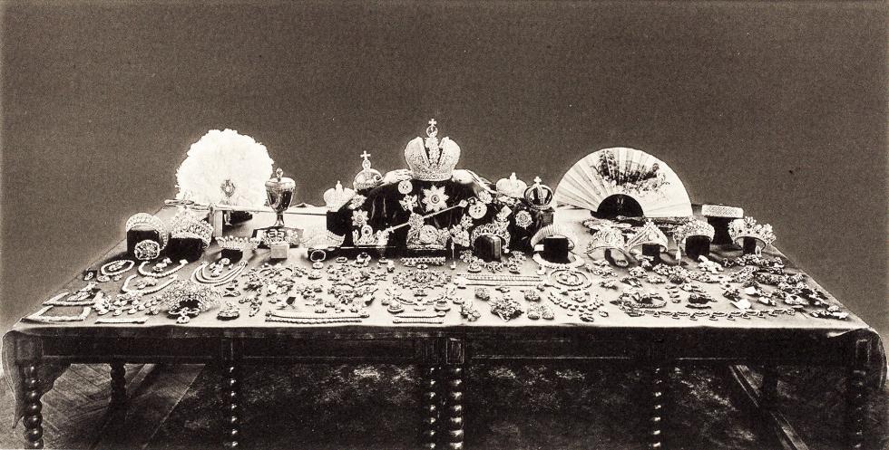 罗曼诺夫家族皇冠宝石。图片来源: 公开资料