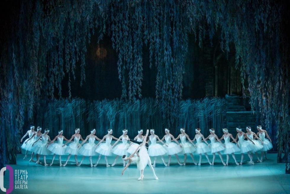 《天鹅湖》芭蕾舞剧。
