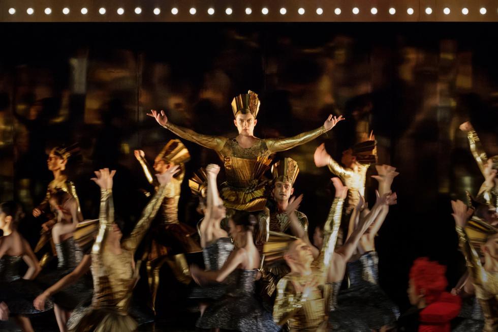 《国王的命令》芭蕾舞剧。