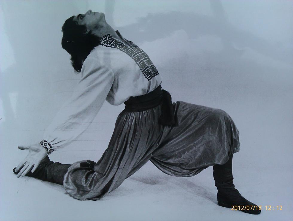 费迪南德·弗格尔曼最拿手的舞蹈是乌克兰民间舞蹈戈巴克舞。图片来源:个人照片