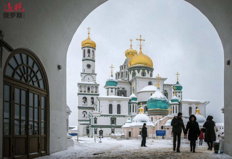 伊斯特拉的新耶路撒冷修道院。图片来源:Mikhail Pochuyev / 塔斯社