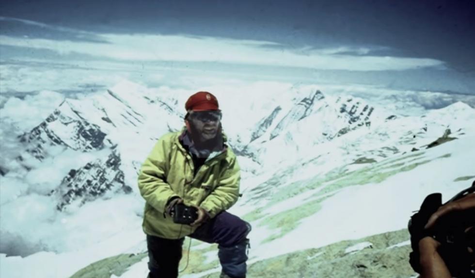 弗拉基米尔·巴什基罗夫在喜马拉雅山。个人档案