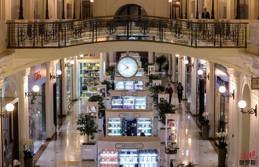 彼得罗夫斯基游廊式商场。图片来源: Valeriy Sharifulin/塔斯社