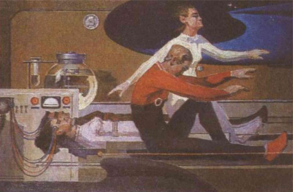 苏联画家关于永生的想象。图片来源:KrioRus