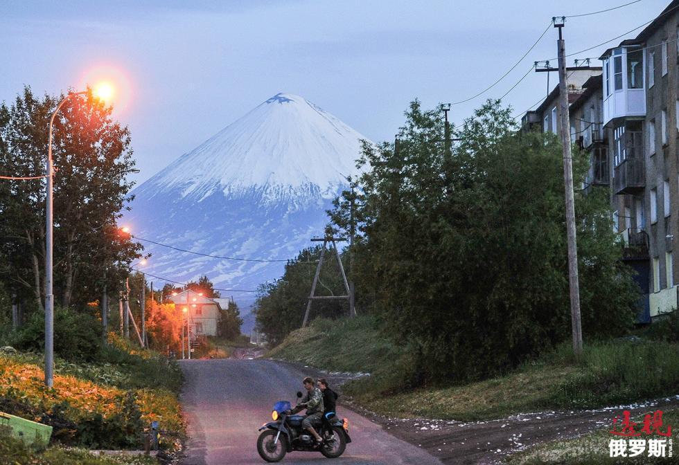 克柳切夫火山。图片来源:Alexey Kudenko / 俄新社