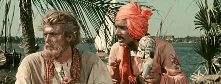 《三海行记》(1958年)影片的镜头。图片来源:kinopoisk.ru