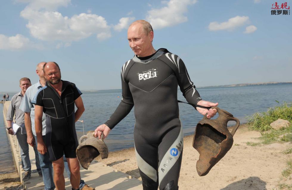 俄罗斯,塔曼半岛,2010年。图片来源: 路透社