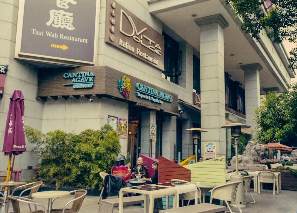 爱凯地大饭店原址的现在的样子,2013年。