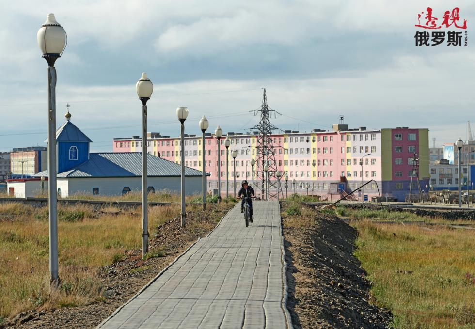 佩韦克小镇。图片来源:Andrey Shapran / 俄新社