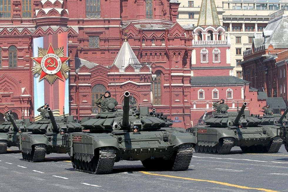 T-72坦克。图片来源:Konstantin Zavrazhin / 俄罗斯报
