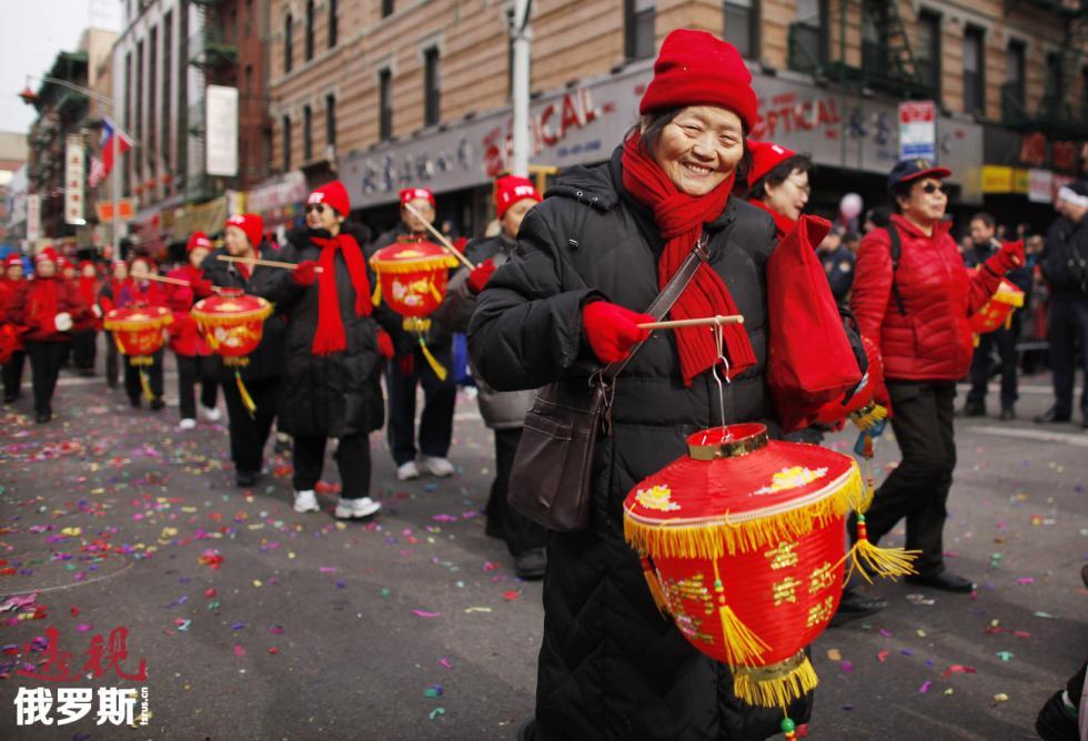 美国纽约唐人街。图片来源:路透社