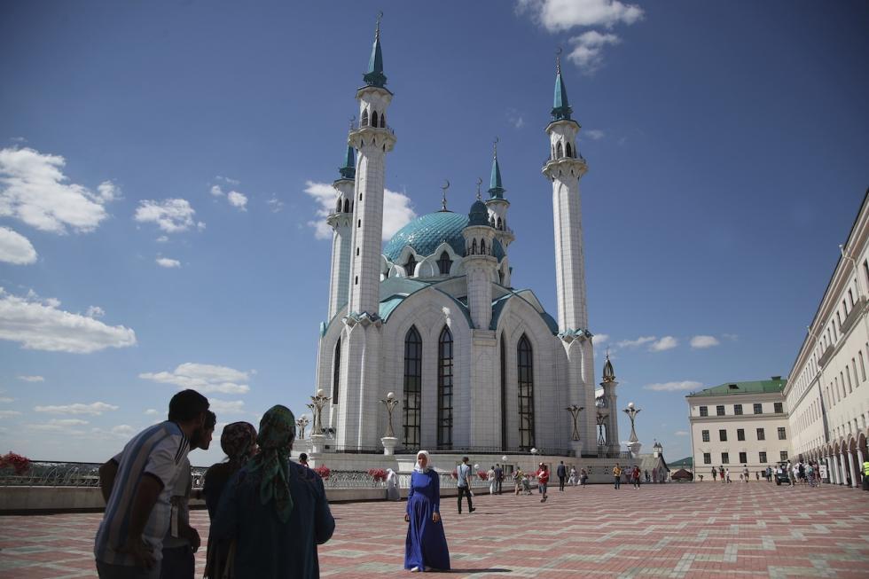 俄罗斯喀山市。图片来源:AP