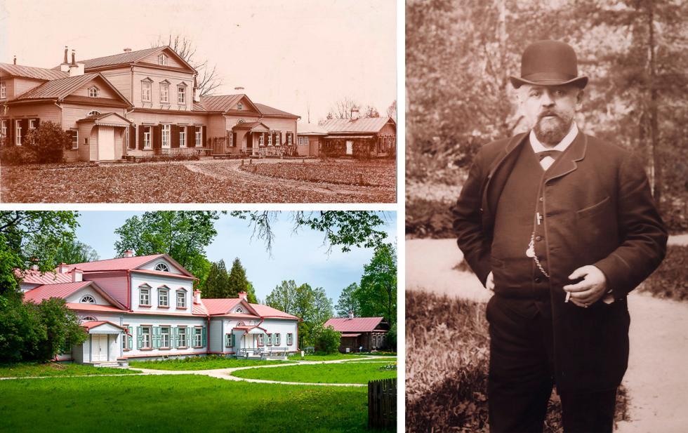 左侧:主建筑; 右侧:萨瓦·马蒙托夫。图片来源:Vadim Razumov, Getty Images