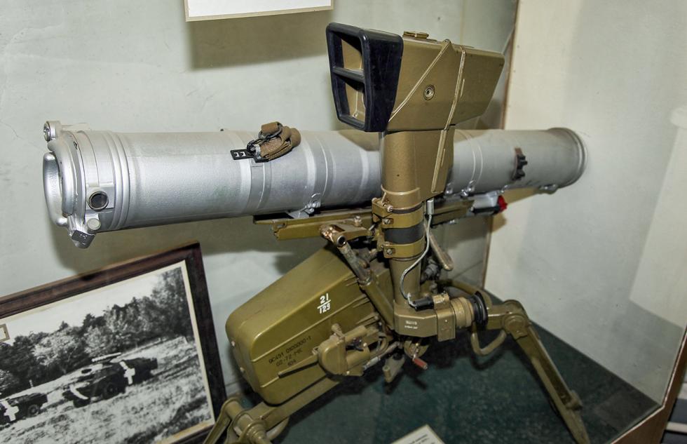 """""""巴松管""""(Fagot)反坦克导弹系统。图片来源:Vitaly V. Kuzmin"""