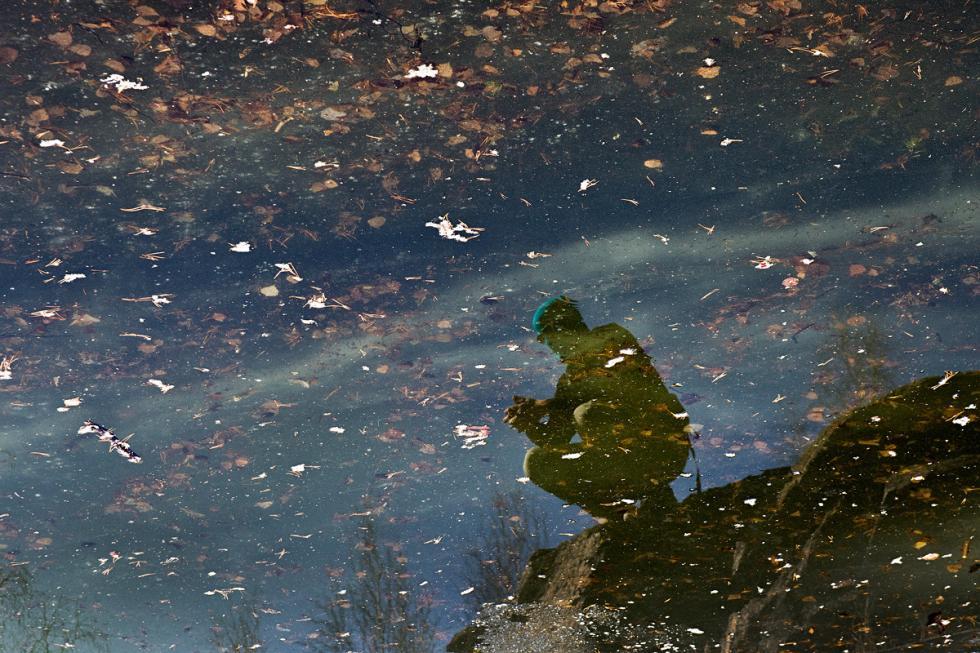 阿尔图尔·马季斯-西拉泽耶夫在车里雅宾斯克市的中心公园。摄影:Sergey Poteryaev