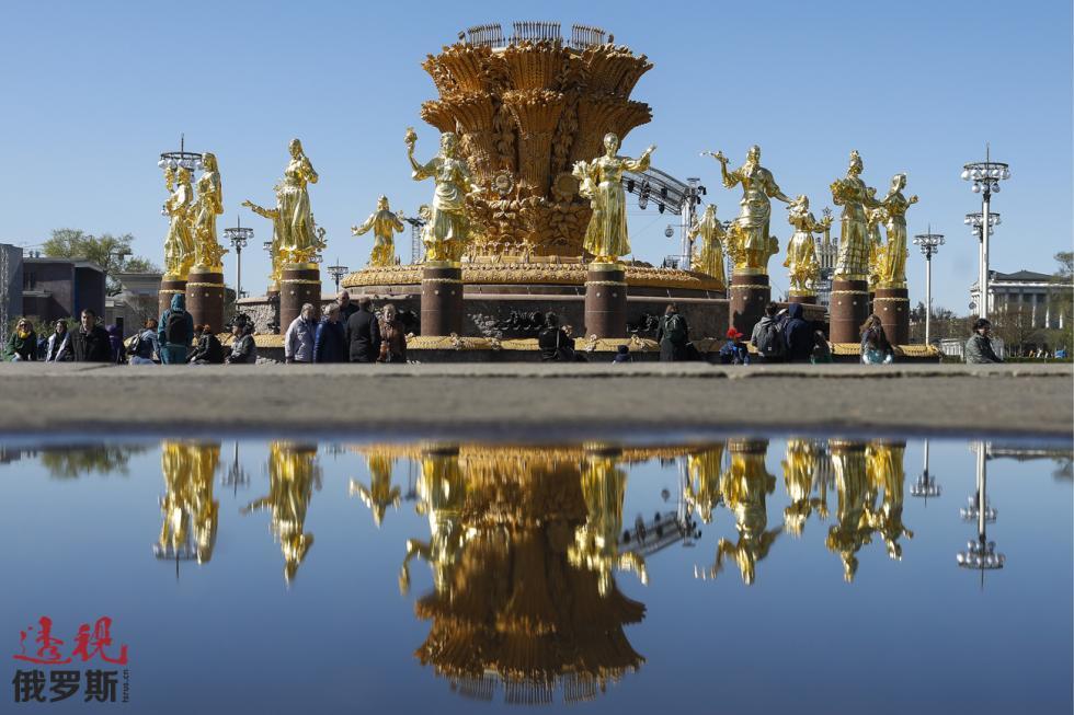 人民友谊喷泉。图片来源:Artyom Geodakyan / 塔斯社