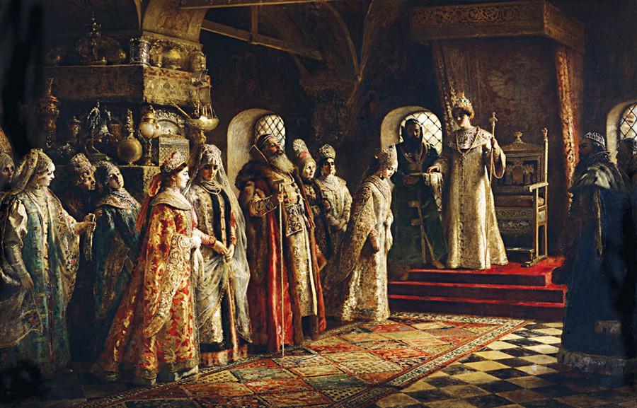 图片来源:Konstantin Makovsky