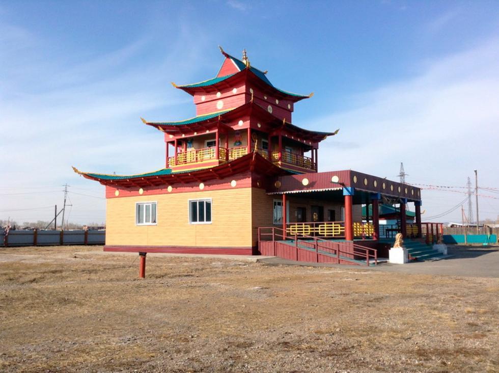 杜布登-达尔热林喇嘛寺。图片来源:Sangha Russia