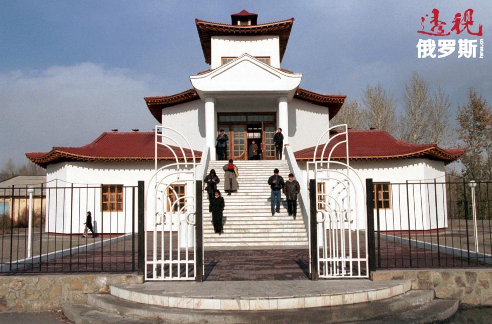 采琴林格喇嘛寺。图片来源:Vitaly Ivanov / 塔斯社