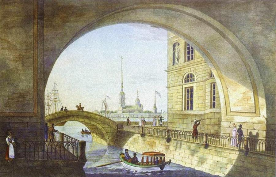 圣彼得堡,1820年。公开来源