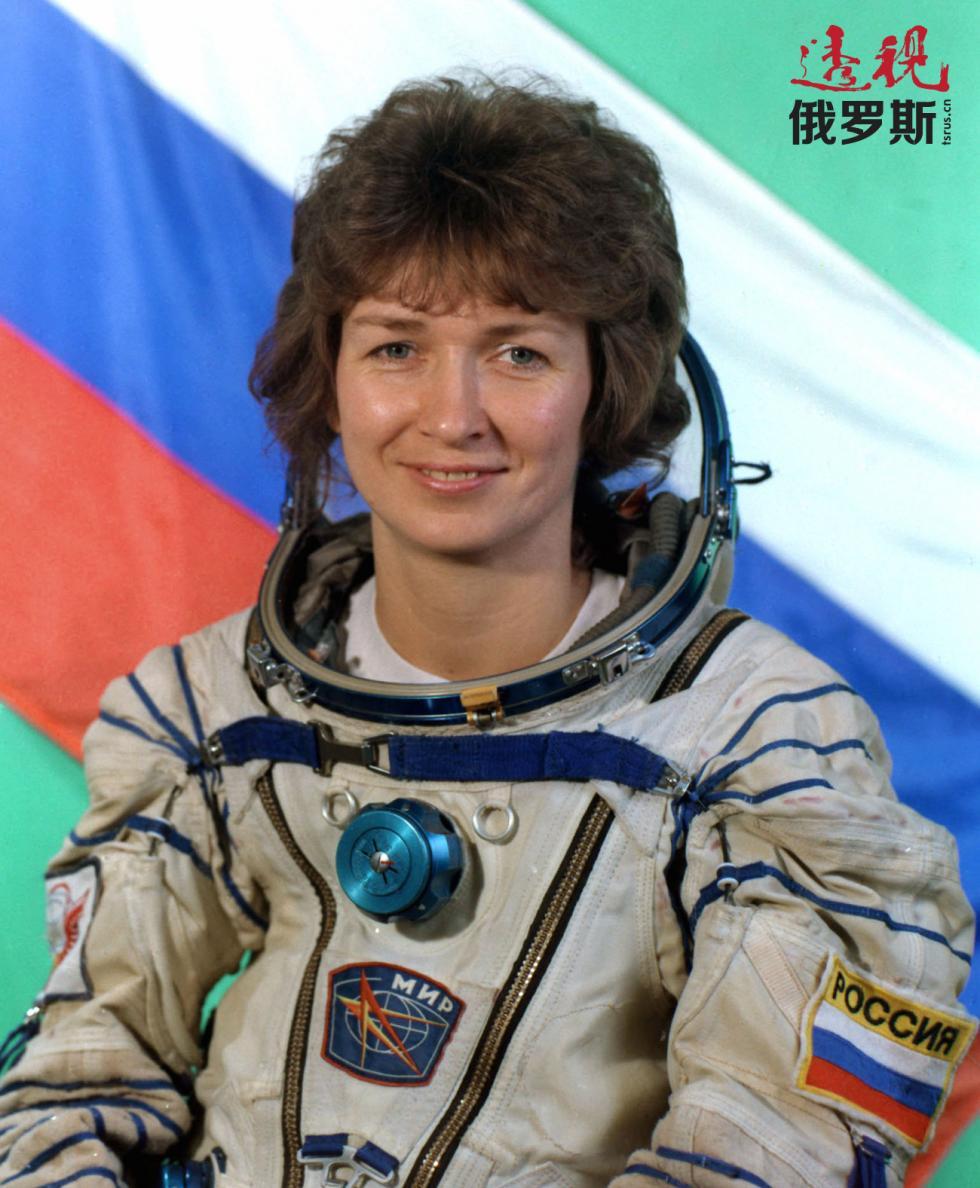 第三位女宇航员叶连娜·孔达科娃。图片来源:Albert Pushkarev / 塔斯社